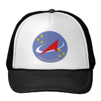 Roscosmos Flight Logo Round Trucker Hat