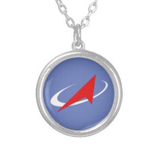Roscosmos Flight Patch Necklace