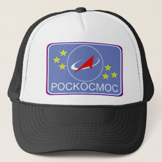 Roscosmos Flight Patch Trucker Hat