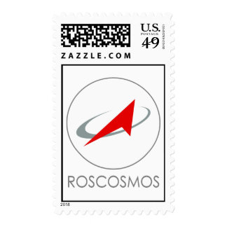 Roscosmos RFSA Logo Postage