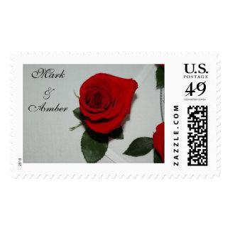 Rose1, Mark & Amber Postage