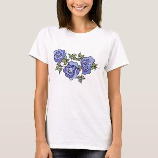 Rose 02 Royal Blue T-Shirt