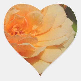 ROSE 12 HEART STICKER