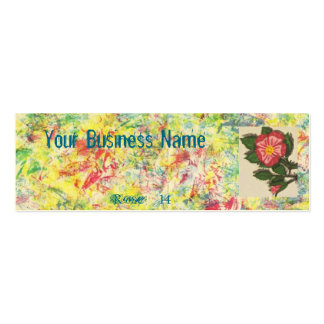 Rose #14 business card