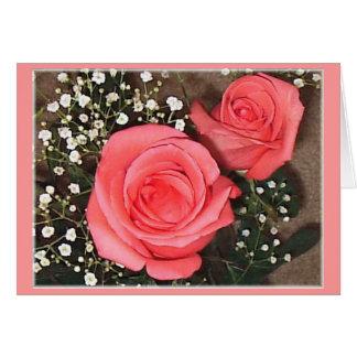 Rose 14 greeting card
