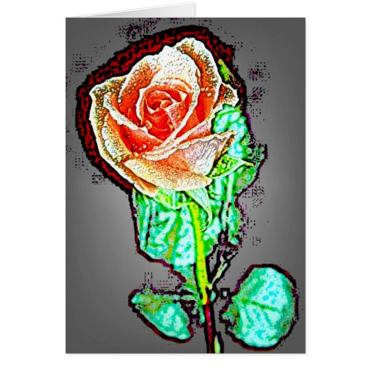 Rose 14 card