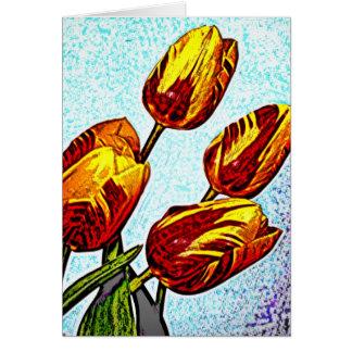 Rose 16 greeting card