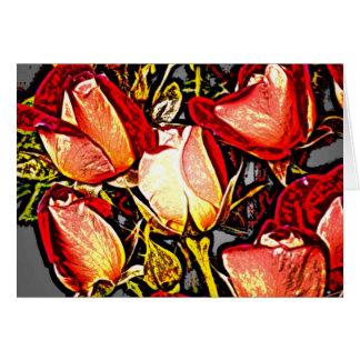 Rose 17 greeting card