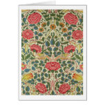 'Rose', 1883 (printed cotton) Card