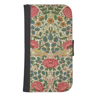 'Rose', 1883 (printed cotton) Galaxy S4 Wallet Case