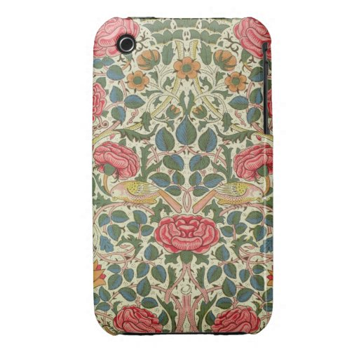 'Rose', 1883 (printed cotton) iPhone 3 Case