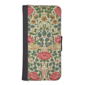 'Rose', 1883 (printed cotton) iPhone SE/5/5s Wallet Case