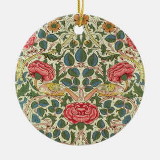 'Rose', 1883 (printed cotton) Ornaments
