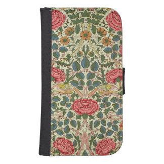 'Rose', 1883 (printed cotton) Galaxy S4 Wallet Case