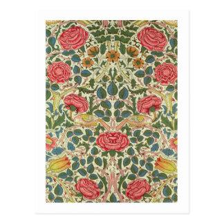 'Rose', 1883 (printed cotton) Postcard