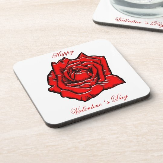 Rose #1 coaster