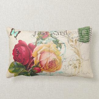 """Rose (1) Lumbar 13"""" x 21"""" Pillow"""
