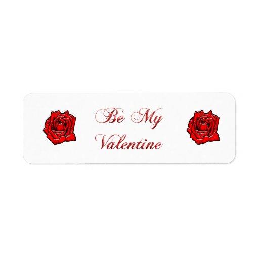 Rose #1 return address label