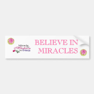 ROSE 1, ROSE 1, madisonandfriends, BELIEVE IN M... Bumper Sticker