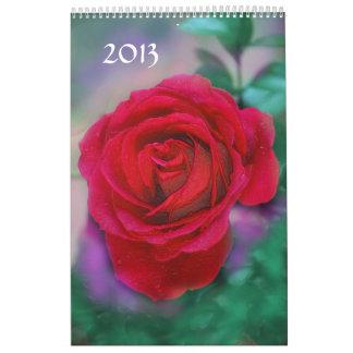 Rose 2013 wall calendars