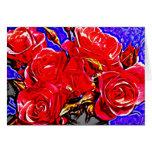 Rose 23 greeting card