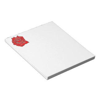 Rose #2 notepad