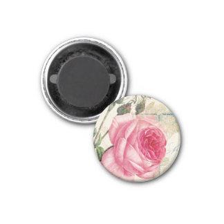 Rose (2) Round Magnet