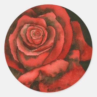 """""""Rose #3"""" Floral Sticker"""