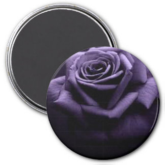 ROSE 3 INCH ROUND MAGNET