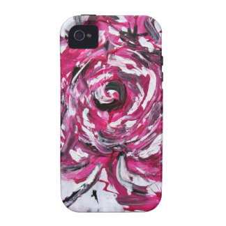 """Rose 3"" Painting by Angelika Stellwag Vibe iPhone 4 Cover"