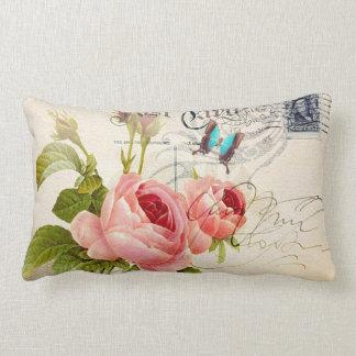 """Rose (4) Lumbar 13"""" x 21"""" Pillow"""