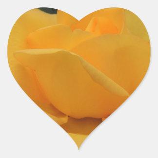 ROSE 5 HEART STICKER