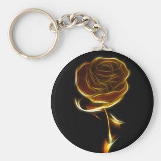 rose-81828 QUE SORPRENDÍA EL FUEGO de DIGITAL Llavero Redondo Tipo Chapa