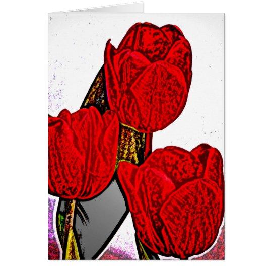 Rose 8 card