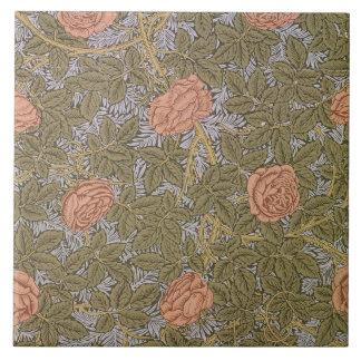 'Rose - 93' wallpaper design Ceramic Tile