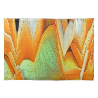 Rose Abstract Cloth Placemat