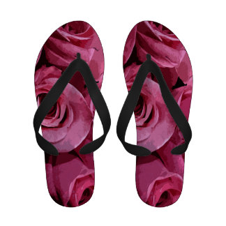 Rose Abstract Flip-Flops