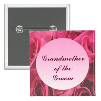 Rose Abstract Grandmother of the Groom Pin