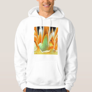 Rose Abstract Hoodie
