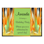 Rose Abstract Invitations