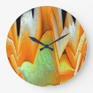 Rose Abstract Large Clock
