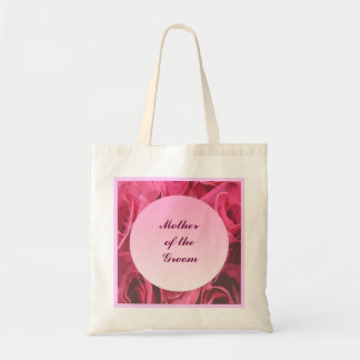 Rose Abstract Mother of the Groom Tote Bag