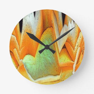 Rose Abstract Round Clock
