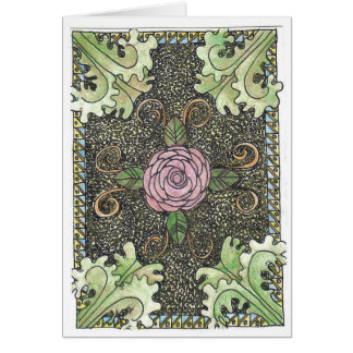 Rose Acanthus in Color Card