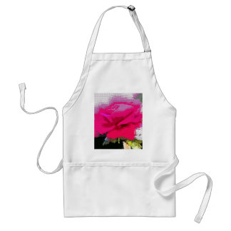 rose adult apron