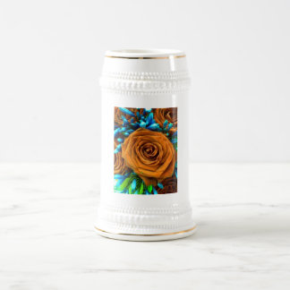 Rose and Agapanthus Beer Stein