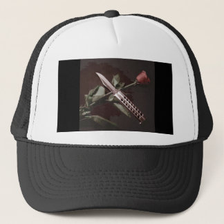 Rose and balisong hat 1