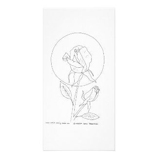 Rose and Bud Card