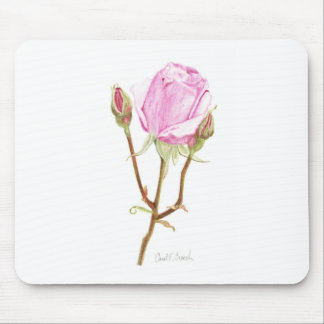 Rose and Buds Mousepad