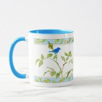 Rose and Bunting Mug